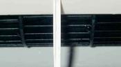 クリーニング後のファンと吹出口 大阪の壁掛形エアコン