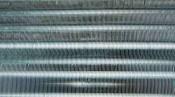 クリーニング後の熱交換器 東芝の壁掛形エアコン