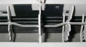 クリーニング後のファンと吹出口 フィルター自動掃除機能付のダイキン壁掛形エアコン