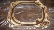クリーニング前のドレンパン 三菱重工の天井カセット形エアコン4方向吹出