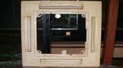 クリーニング前のパネル 天井カセット形エアコン4方向吹出