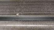 クリーニング前の熱交換器 神戸の壁掛形エアコン