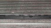 クリーニング後の熱交換器 神戸の壁掛形エアコン