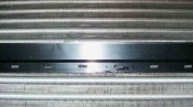 クリーニング後の熱交換器 大阪の壁掛形エアコン