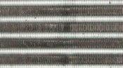 クリーニング前の熱交換器 大阪の床置形エアコン(アップ)
