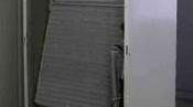 クリーニング前の筐体 神戸の床置形エアコン