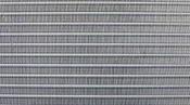 クリーニング後の熱交換器 神戸の床置形エアコン(アップ)