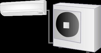 家庭用エアコンの室外機