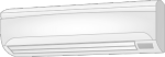 壁掛形エアコン 横幅90cm未満のクリーニング料金