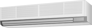 壁掛形エアコン横幅150cm未満のクリーニング料金