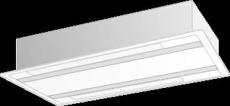 天井カセット形エアコン 2方向吹出