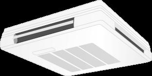 天井吊下形ワンダフルエアコン